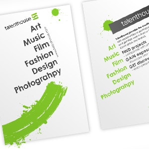 Brochure for Talenthouse by ist