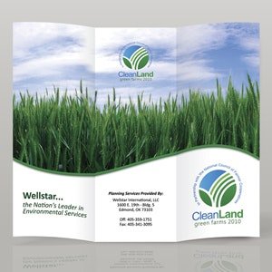 Folleto para Clean Land Green Farms por xowu