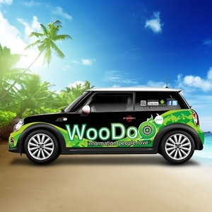 Car, truck or van wrap for WooDoo by Donny Sakul