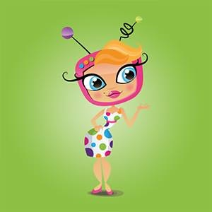 Character or mascot for Askvivi.tv by Estefanía Sanz