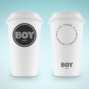 Design de logotipos para BOY & Co. por designbybruno