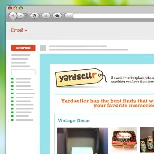 E-mail per Yardsellr di kitchenkitten