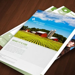 Logo design for Farm Credit Mid-America by YaseenArt