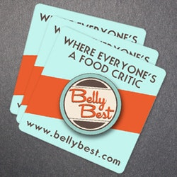 Logo design for BellyBest by witchyu