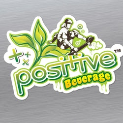 Logo design for Positive Beverage, LLC. by Go_Goh