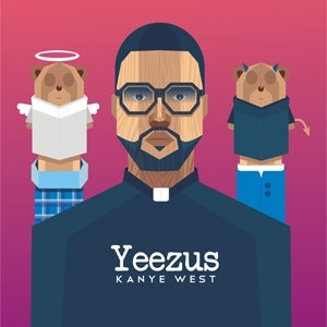 Illustration or graphics for 99designs Kanye West community contest by fattah setiawan
