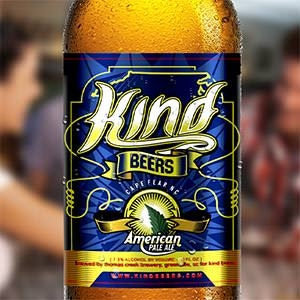 Product label for Kind Beers American Pale Ale by diwaz