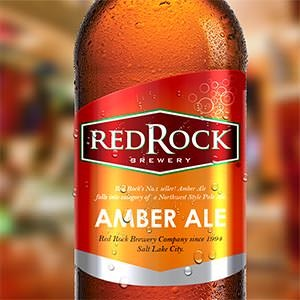 Product label for Red Rock Brewery by GS_creative