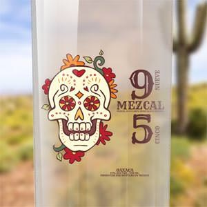 Product label for Mezcal 9 5 by goodidea