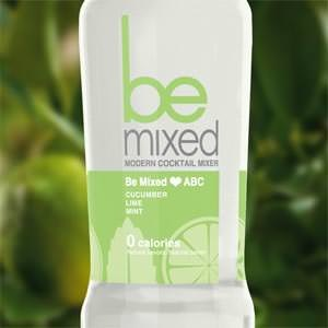 Productetiket voor Be Mixed door Bizco
