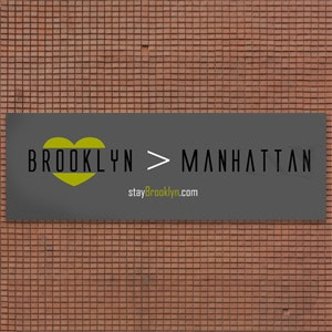 Signage for StayBrooklyn.com by vintastro