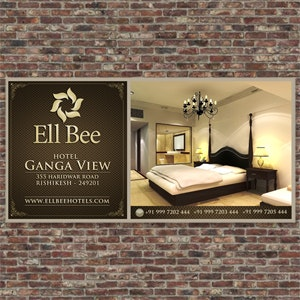 Logo design for Ellbee Hospitality Pvt. Ltd by Saishowa