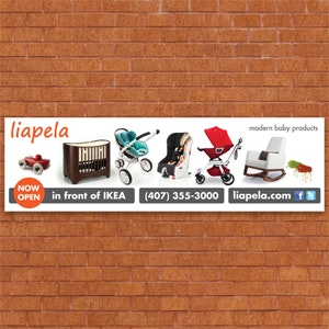 Signage for Liapela Modern Baby by pulunx_19
