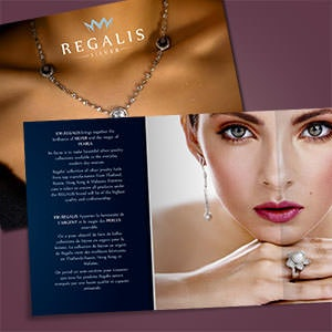 Brochure for Regalis by YaseenArt