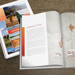Brochure per Experience Travel Group di YaseenArt