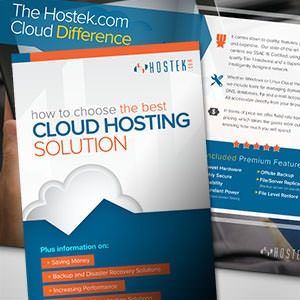 Brochure for Hostek.com  by Bridge3196