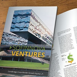 Sofinnova Ventures,Inc。的徽标设计由Hamza Shaikh