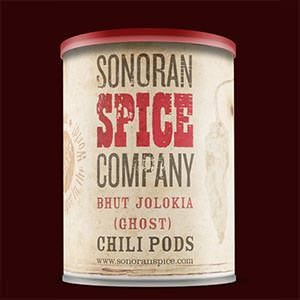 Product label for Sonoran Spice Company by Angry Bear Press