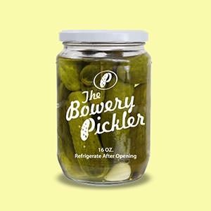 Product label for The Bowery Pickler by micnic