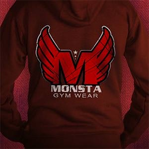Logotipos para Monstagymwear por $@th!r@