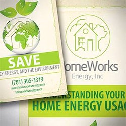 Logo design for HomeWorks Energy by Rgraphic@