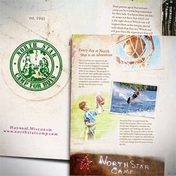 Logopour North Star Camp for Boys réalisé par awesomedesigning