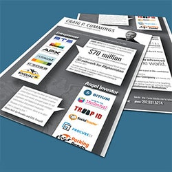 Création de logopour Infographic Resume for myself, Craig P. Cummings réalisé par (blank)