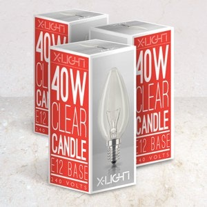 Packaging produitpour X-Light réalisé par TTOM