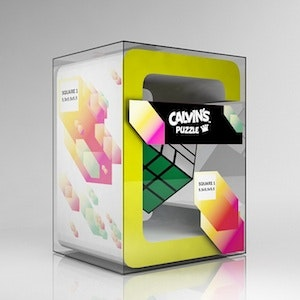 Product packaging for Calvin's Puzzles by bachnguyen