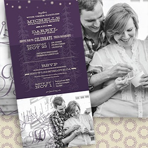 Card or invitation for Darryl & Michelle's Wedding by mbrekke