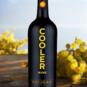 Product label for Cooler Wine by Janks