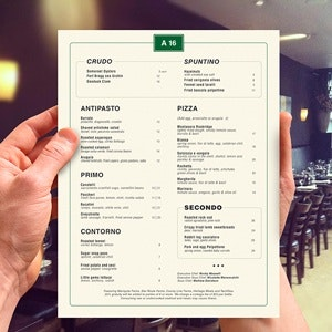 Menu for A16 by media7