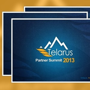 PowerPoint template for Telarus by deedesigner