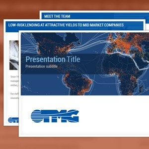 PowerPoint template for TMG by smashingbug