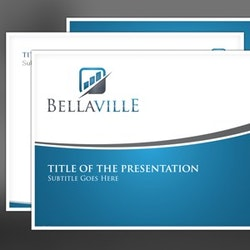 Design de template personalizado de power point 99designs design de logotipos para bellaville por fspiration toneelgroepblik Images