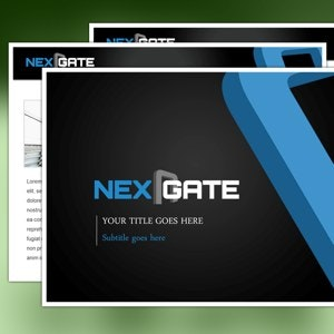 PowerPoint template for Nexgate by smashingbug