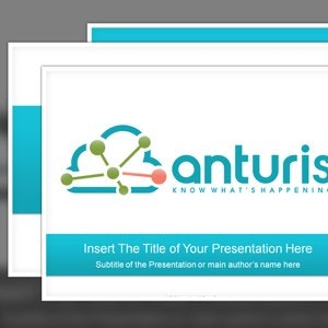PowerPoint template for Anturis by beard&coffee