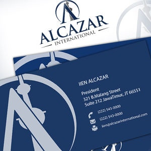 Business card for Alcazar International by iien