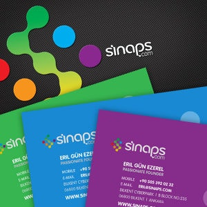 Business card for Sinaps by dotdot