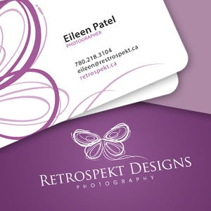 Business card for Retrospekt Designs by khingkhing