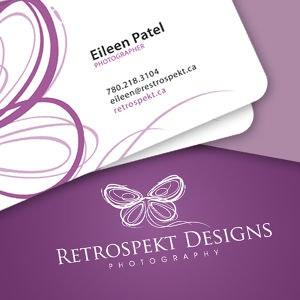 logo u0026 business card logo design for retrospekt designs by khingkhing