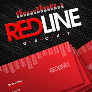 Business card for RedLine by R-Disign