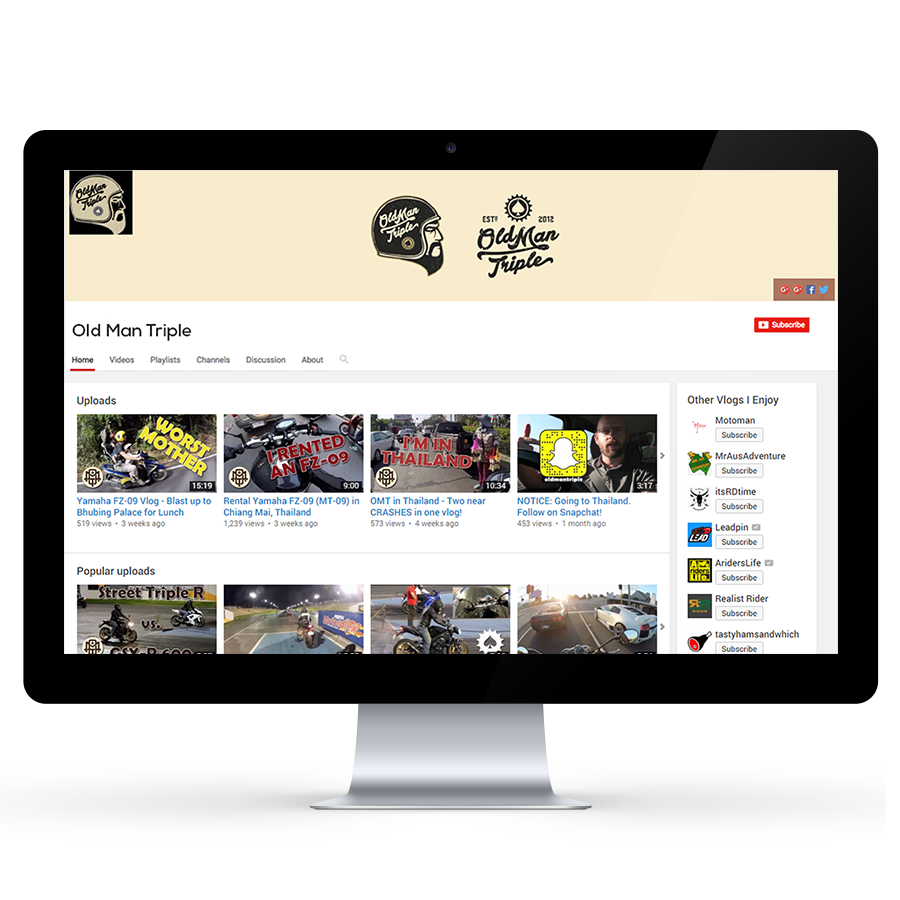 YouTube Channel Design - Custom YouTube Channel Design Service ...