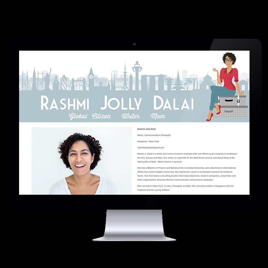 custom website header design
