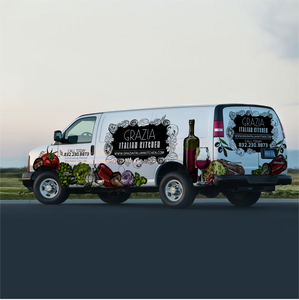 car-truck-van-wrap-design por Jdodo