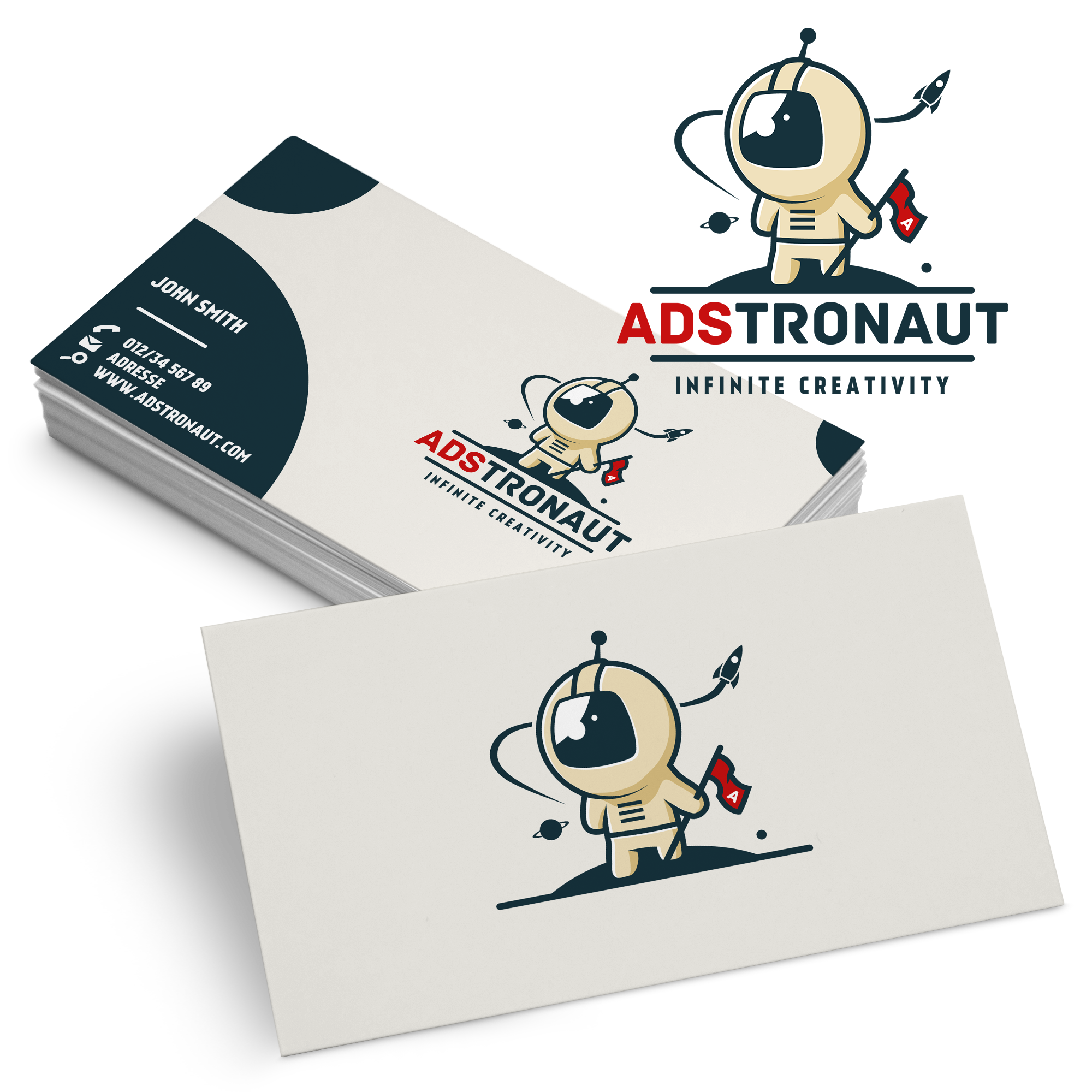 logo-business-card-design por Widakk