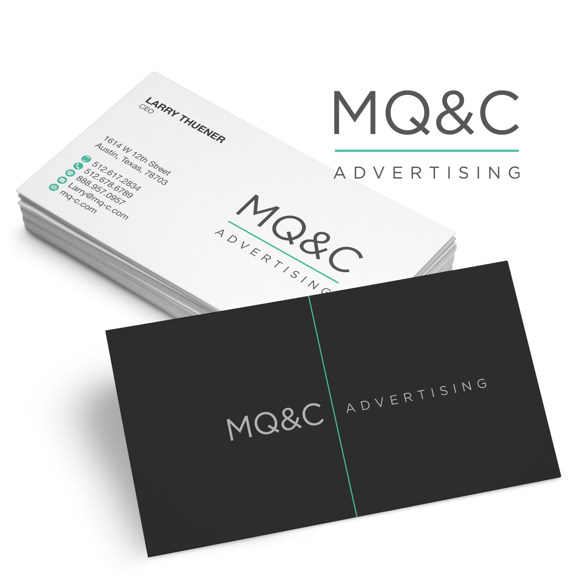 BlueMooonのlogo-business-card-design