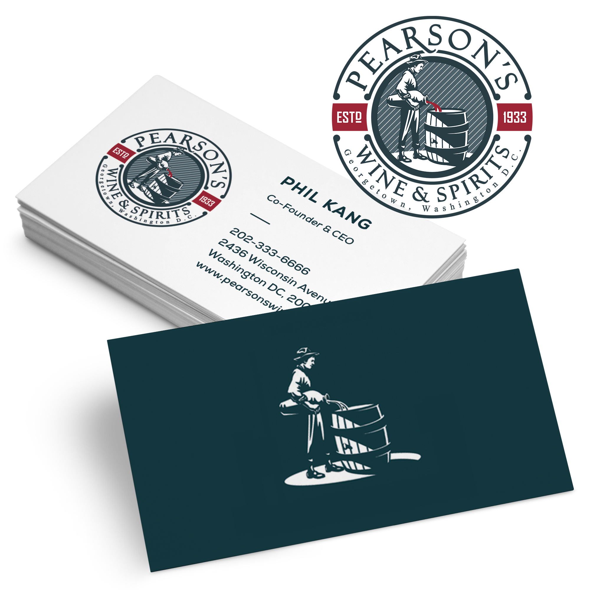 logo-business-card-design por CAMELEON14