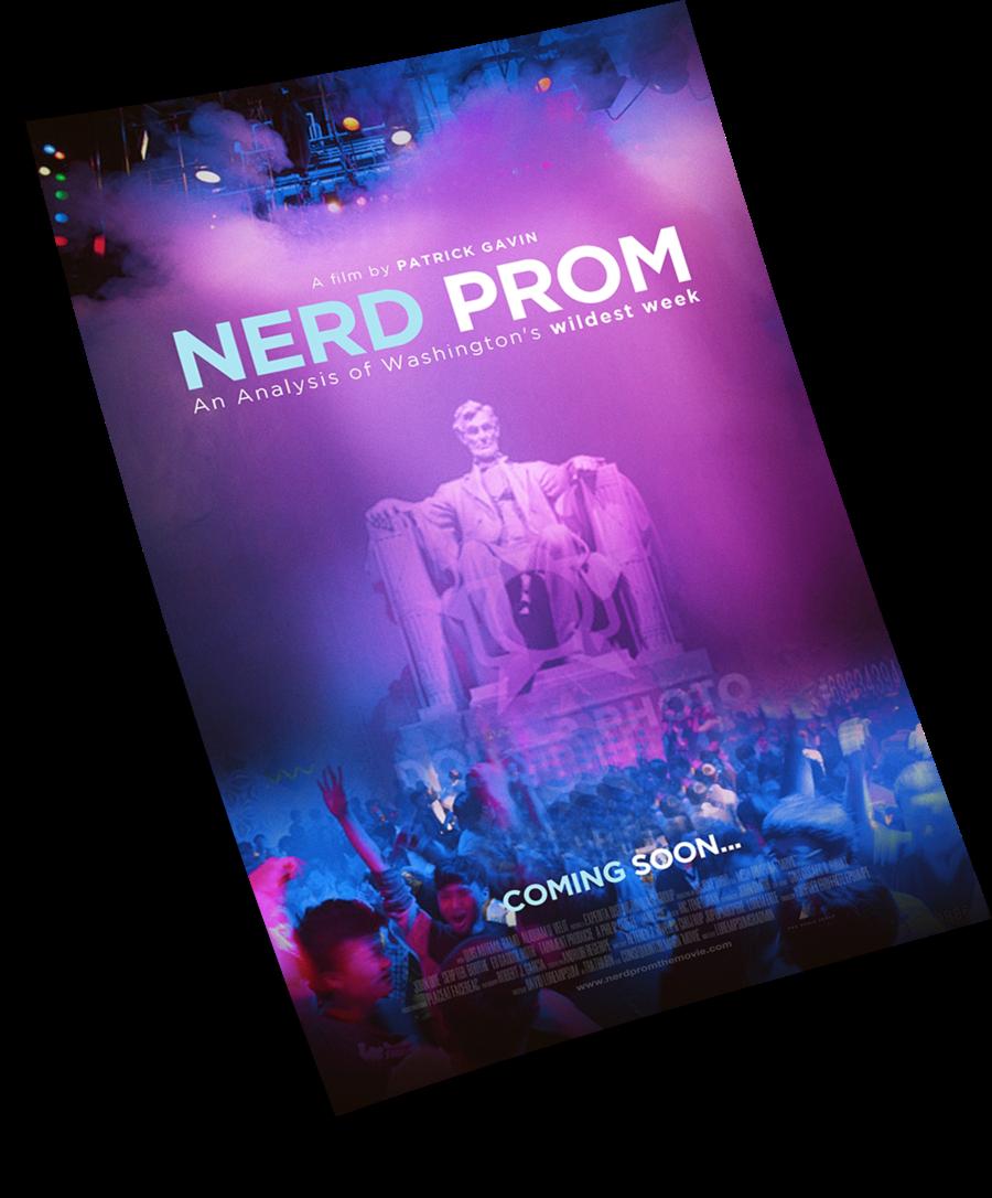 Nerd Prom はがき・チラシデザイン
