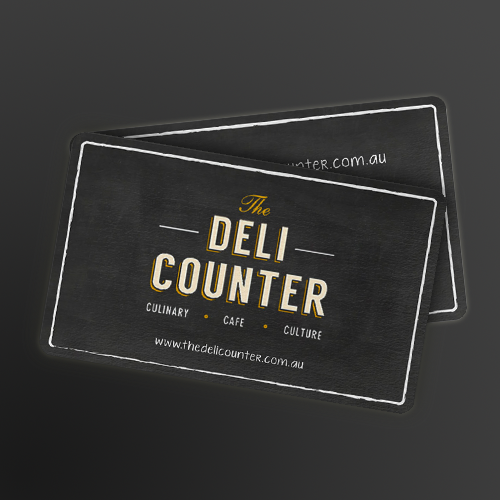 Logotipos para The Deli Counter por kendhie